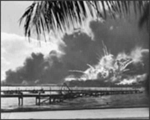 Japanese Attack at 7:55am