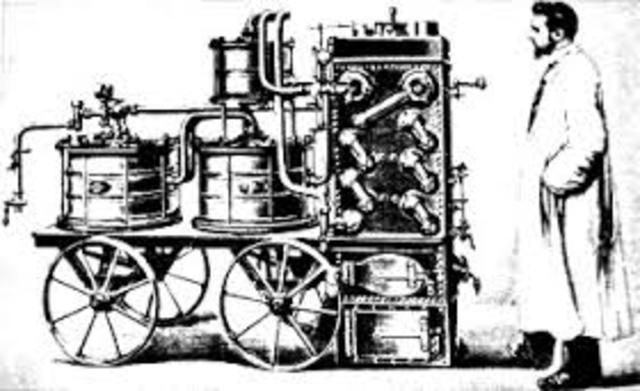 Invención de la máquina a vapor