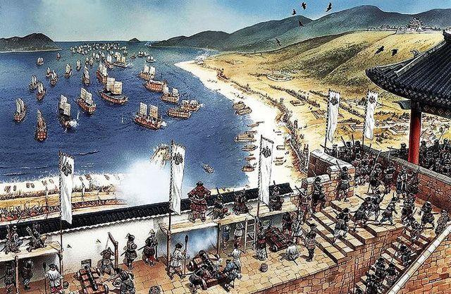 Japan Invades Korea~ 1592