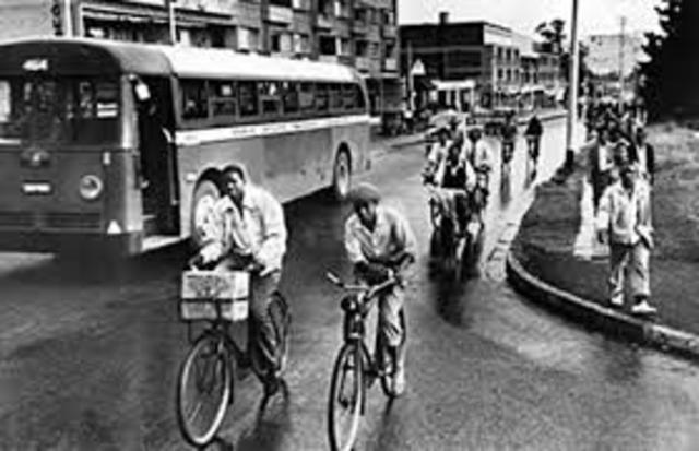 Montogomery Bus boycott