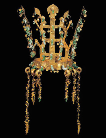 Gold and Jade Crown