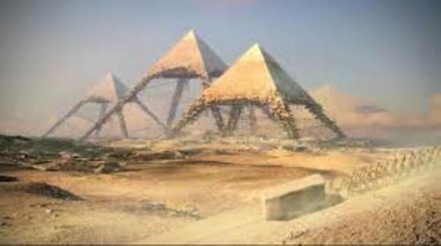Pyramids of Giza timeline   Timetoast timelines