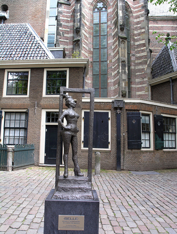Statue honouring sex workers unveiled in Amsterdam, Netherlands