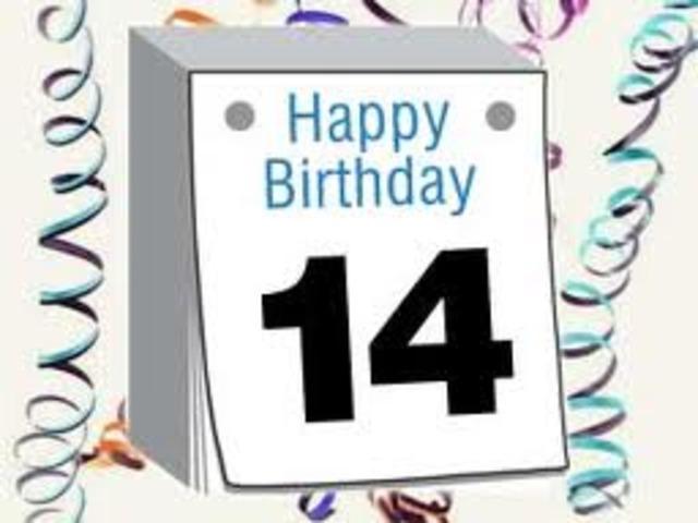 My 14th Birthday