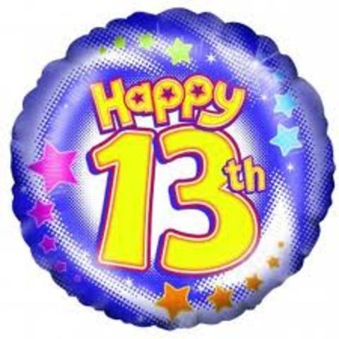 13th Birthday.