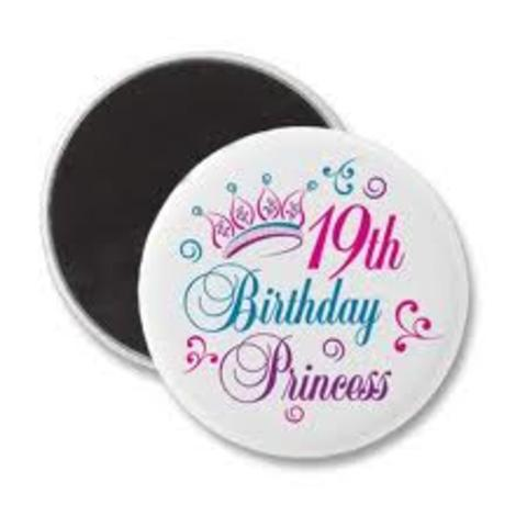 My 19th Birthday