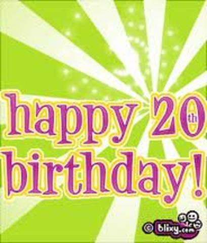 20th Birthday!