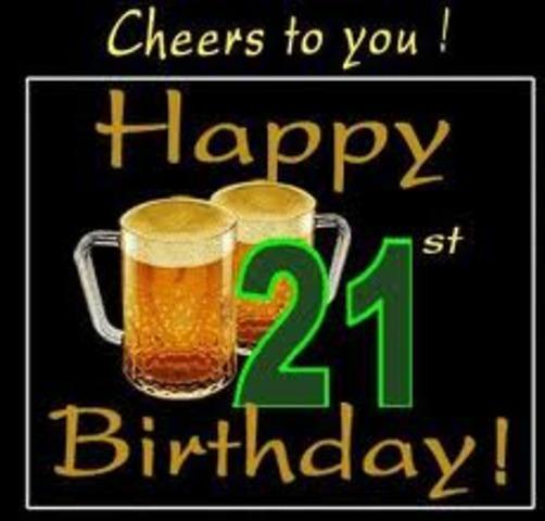 21st Birthday!