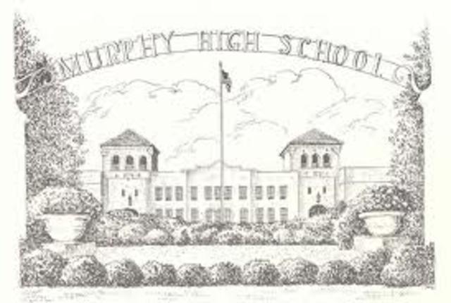I start at Murphy High School.