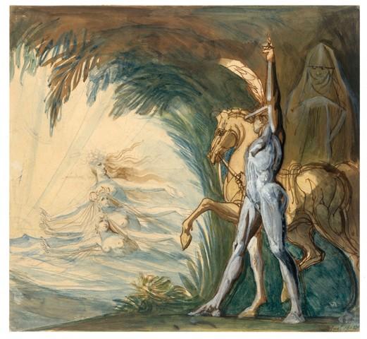 HENRY FUSELI «Hagen et les nymphes du Danube»