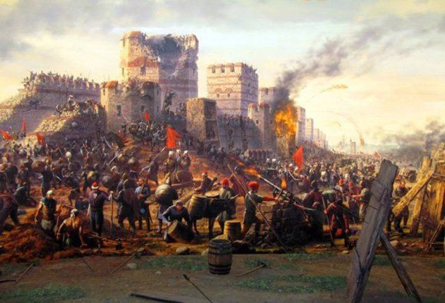 Turks conquered Constantinople