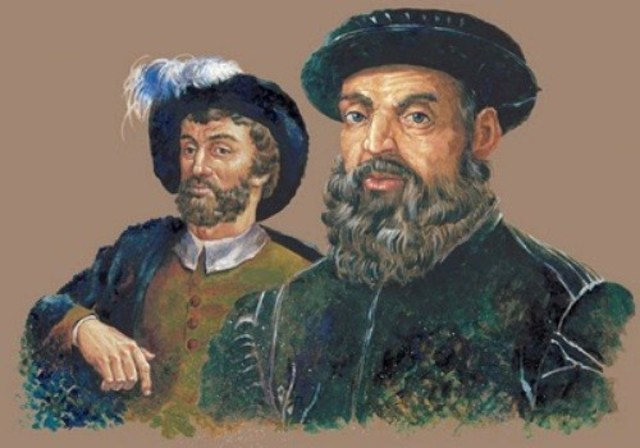 Ferdinand Magellan and Juan Sebastian Elcano expedition
