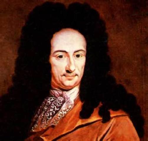 Gottfried Wilhelm Leibniz.