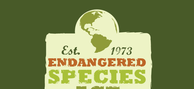 1973 endangered species act research topic We, the us fish and wildlife service and the national marine fisheries service (collectively, the services), propose to amend the regulations governing consultation under section 7 of the endangered species act of 1973, as amended (esa), regarding incidental take statements.
