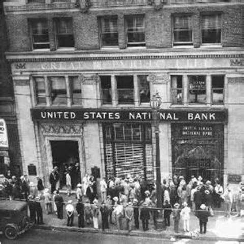 Banking in the Great Depression
