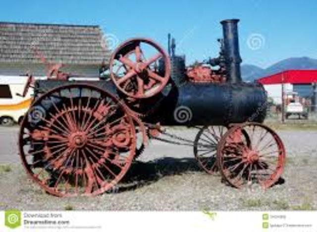 Primer motor de vapor