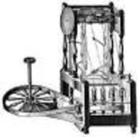 El primer telar mecánico