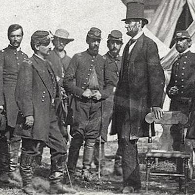 Lincoln's Generals (Civil War) timeline