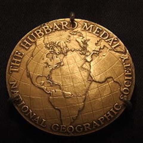 Is awarded the Gold Medal