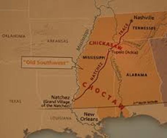 Choctaw Indians Land