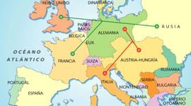 CRONOLOGIA PRIMERA GUERRA MUNDIAL timeline