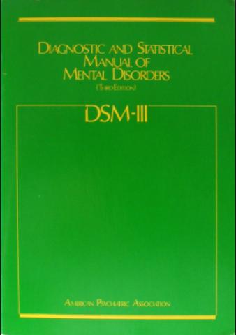 DSM Aparición DSM III
