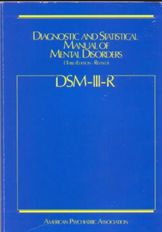 DSM Revisión DSM III