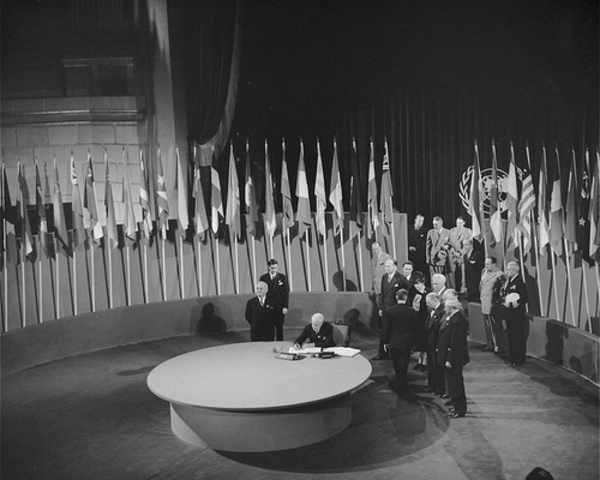 The United Nations Charter is Created
