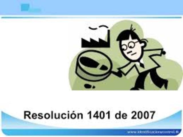 RESOLUCIÓN 1404 y 2346 EN COLOMBIA