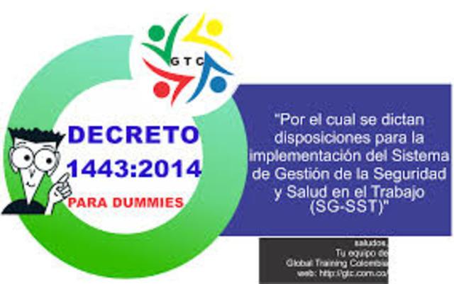 SISTEMA DE GESTIÓN DE LA SEGURIDAD Y SALUD EN EL TRABAJO EN COLOMBIA