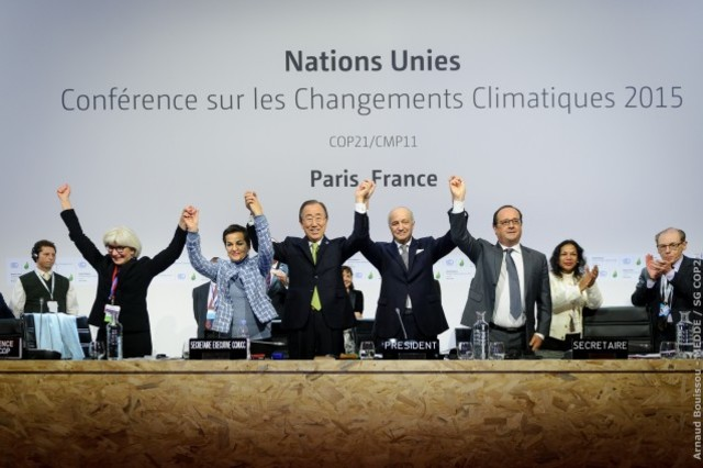 Paris Climate Agreement Adopted