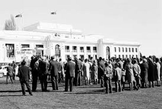 Vietnam war date in Melbourne