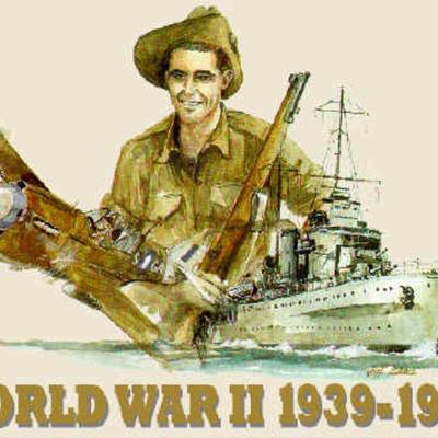 World War II TimeToast Timeline