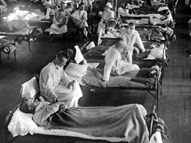 "Influenza Epidemic : ""Spanish Flu"" (social, political and economic)"