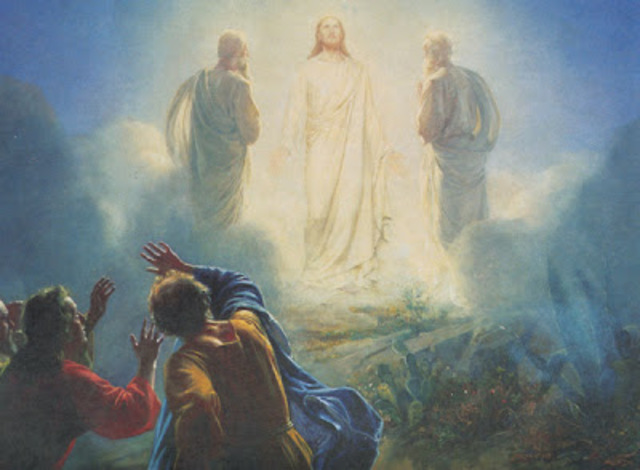 Moisés en el monte Sinai