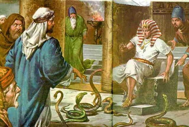 Moises VS El Faraón
