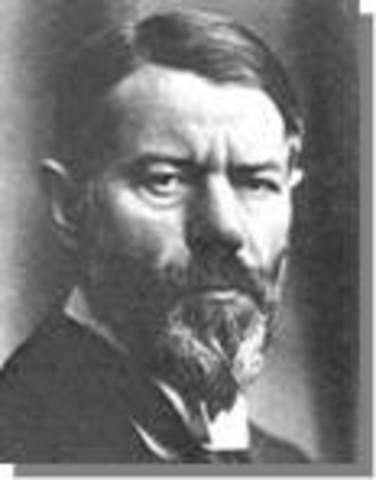 Teoría de la Burocracia 1910-1915