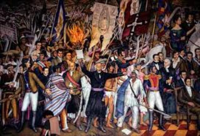 Independencias Latinoamericanas.