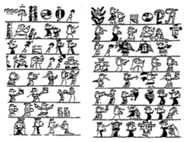 Pictogramas (China y Egipto, 5.000 a.C.)