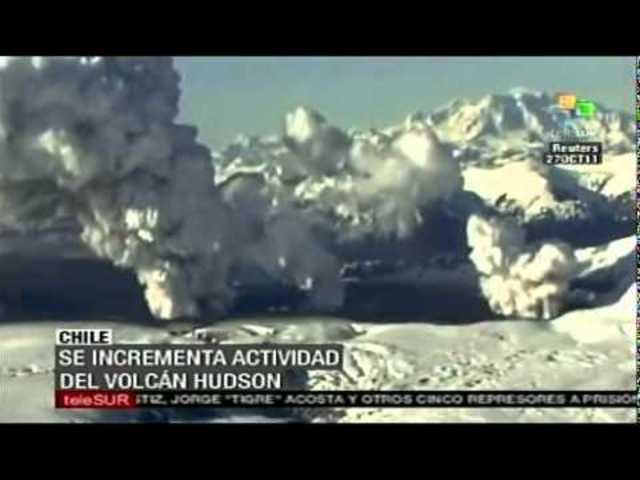 Erupción del volcán Hudson