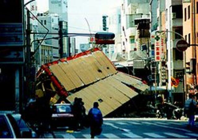 El Terremoto de Kobe de 1995 o el Gran terremoto de Hanshin-Awaji