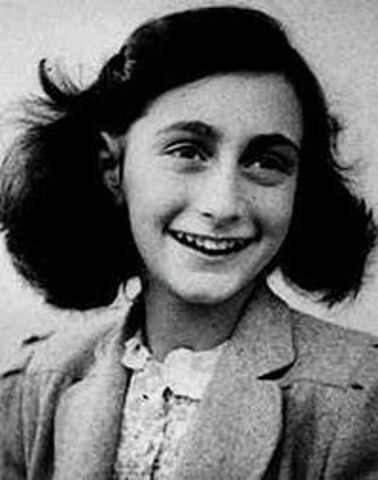 What Anne Frank looked like.