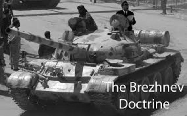 The Brezhnev doctrine