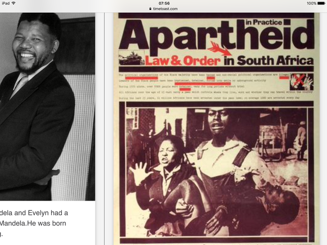 the struggles of nelson mandela during the apartheid period in south africa South africa's apartheid is a familiar concept the world over  nelson mandela  was a key anti-apartheid activist, leading defiance  for the first time by scoring a  landslide victory in a whites-only referendum on reform (ap.