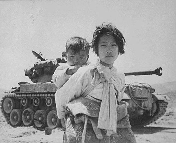 Comienzo de la Guerra de Corea