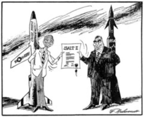 The Cold War timeline | Timetoast timelines