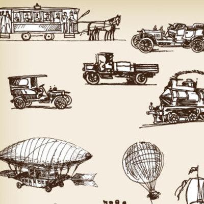 Evolución del transporte en el Perú timeline