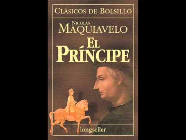 """maquiavleo escribe """"el príncipe"""" su obra mas destacada"""