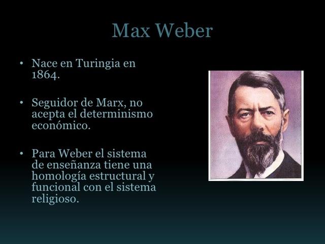 nace max weber
