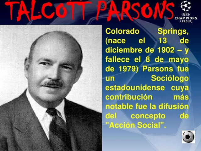 nace talcott parsons
